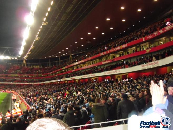 A photo of The Emirates Stadium uploaded by smithybridge-blue