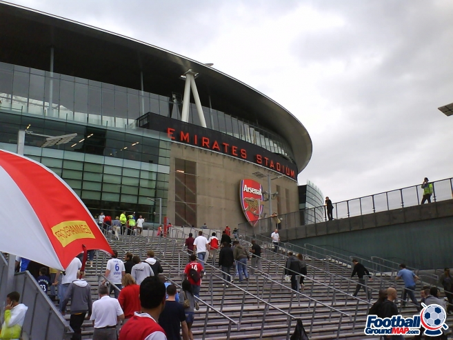 A photo of The Emirates Stadium uploaded by facebook-user-85885