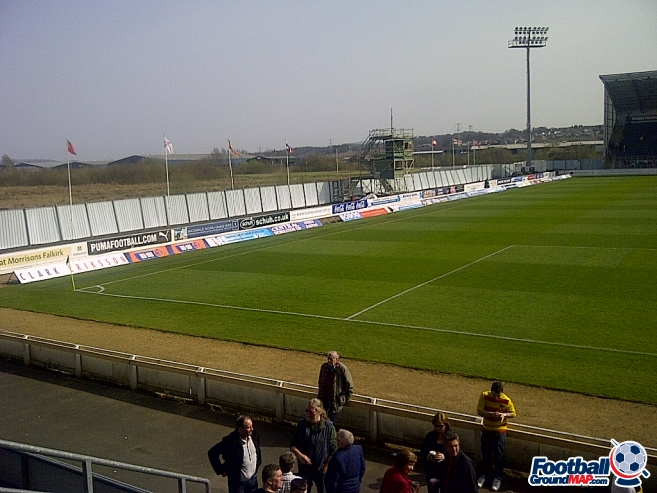 A photo of The Falkirk Stadium uploaded by dannyptfc