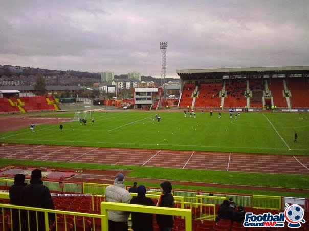 A photo of The International Stadium uploaded by ltfcpickle