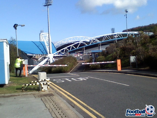 A photo of The John Smith's Stadium uploaded by facebook-user-90348