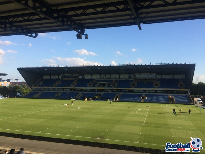 A photo of The Kassam Stadium uploaded by nickw1905