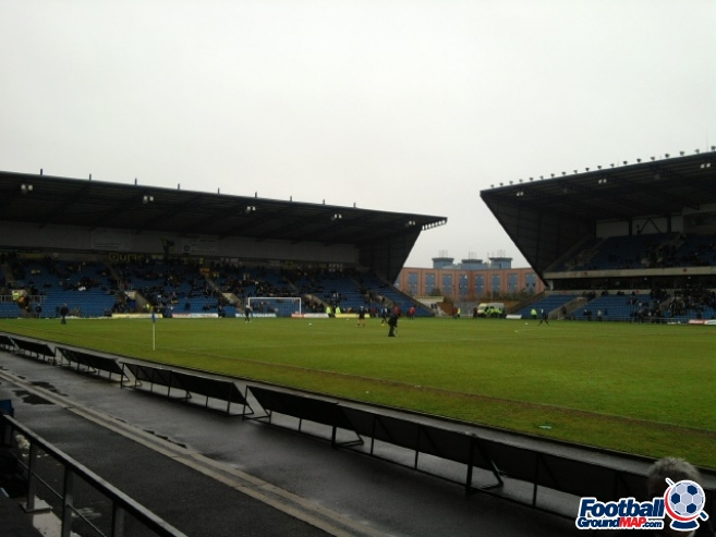 A photo of The Kassam Stadium uploaded by scot-TFC