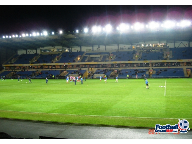 A photo of The Kassam Stadium uploaded by saintshrew