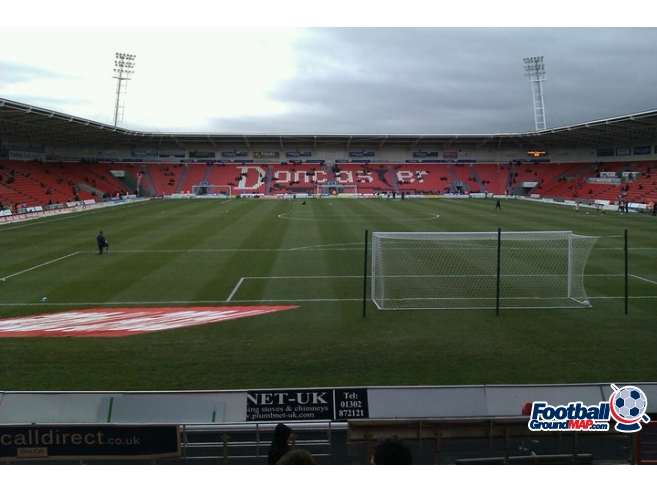 A photo of The Keepmoat Stadium uploaded by peter-tucker