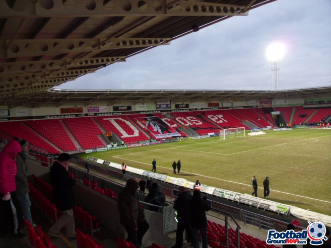 A photo of The Keepmoat Stadium uploaded by smithybridge-blue