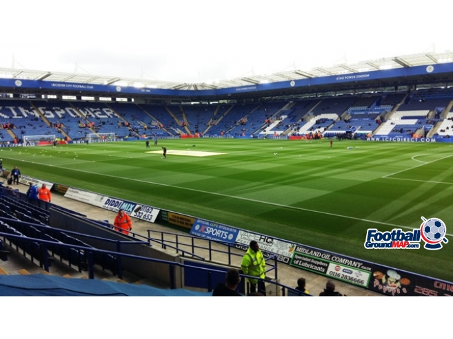 A photo of The King Power Stadium uploaded by oldboy