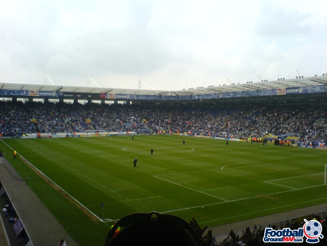 A photo of The King Power Stadium uploaded by marcjbrine
