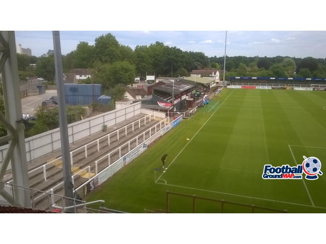A photo of The Kingfield Stadium uploaded by adie