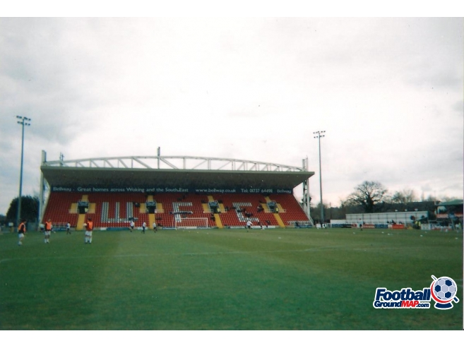 A photo of The Kingfield Stadium uploaded by scot-TFC