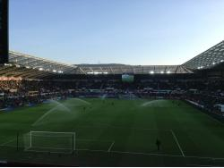 An image of The Liberty Stadium uploaded by hi5ilo