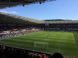 An image of The Liberty Stadium uploaded by neal