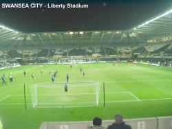 An image of The Liberty Stadium uploaded by facebook-user-97239