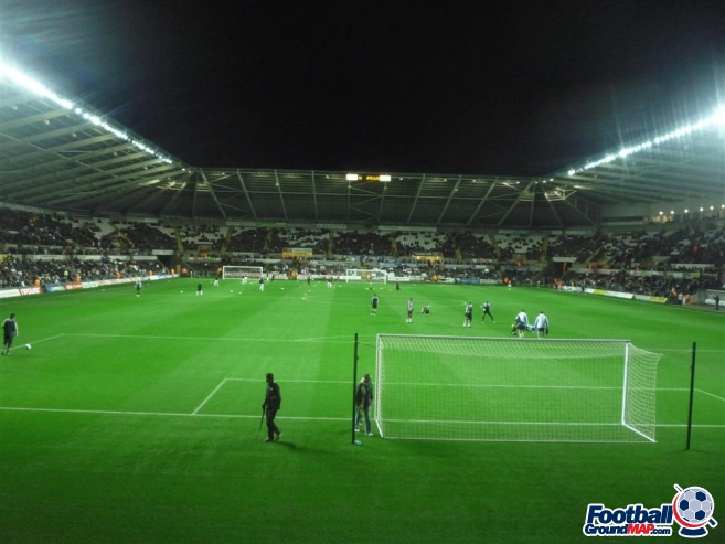A photo of The Liberty Stadium uploaded by machacro