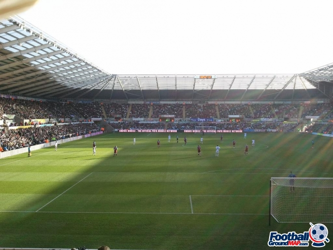 A photo of The Liberty Stadium uploaded by facebook-user-82781