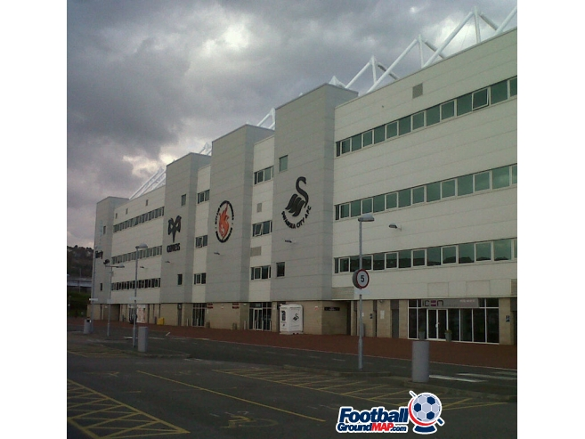 A photo of The Liberty Stadium uploaded by sfc161