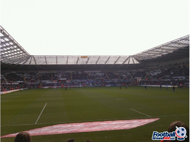 A photo of The Liberty Stadium uploaded by LewisM
