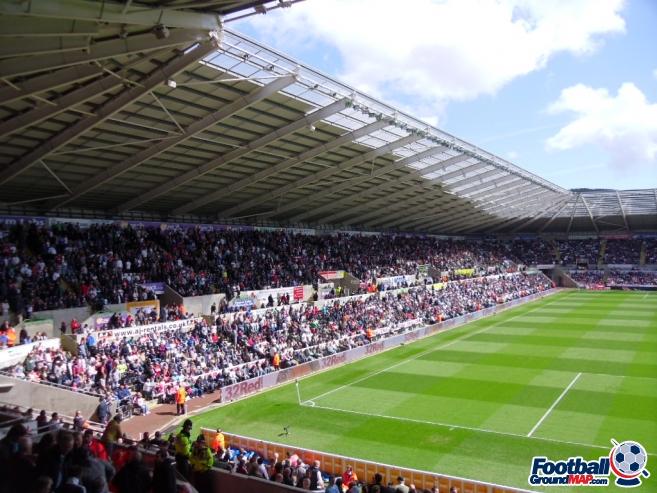 A photo of The Liberty Stadium uploaded by smithybridge-blue