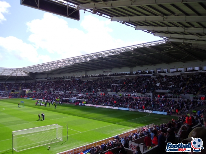 A photo of The Liberty Stadium uploaded by smithybridge-blue