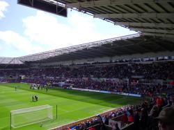 An image of The Liberty Stadium uploaded by smithybridge-blue