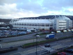 An image of The Liberty Stadium uploaded by paulo11smith