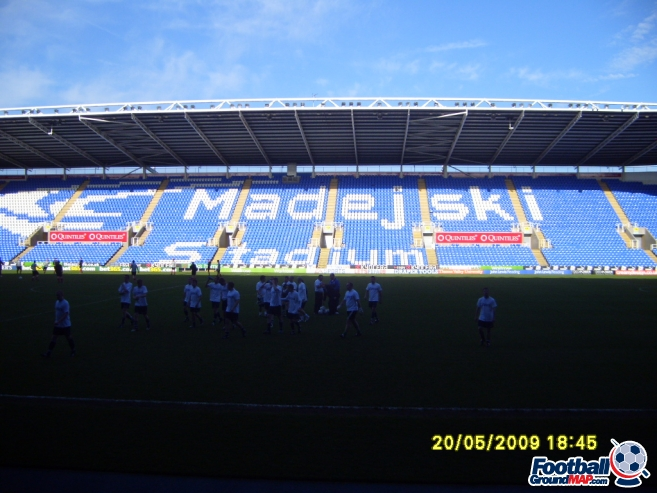 A photo of The Madejski Stadium uploaded by facebook-user-97239