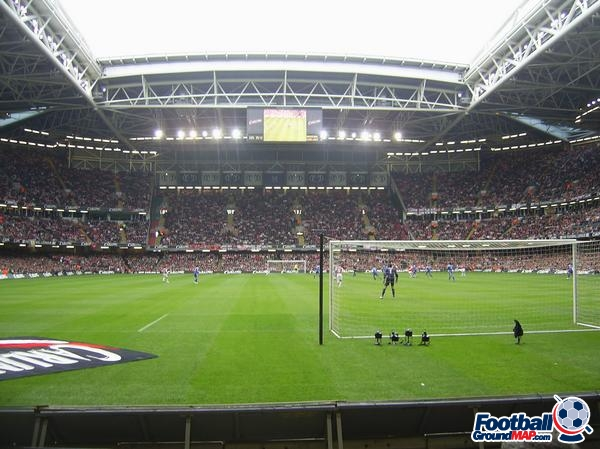 A photo of The Millennium Stadium (Principality Stadium) uploaded by facebook-user-55935