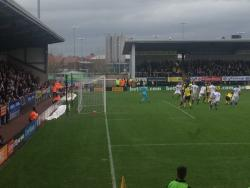 An image of The Pirelli Stadium uploaded by cw01jp