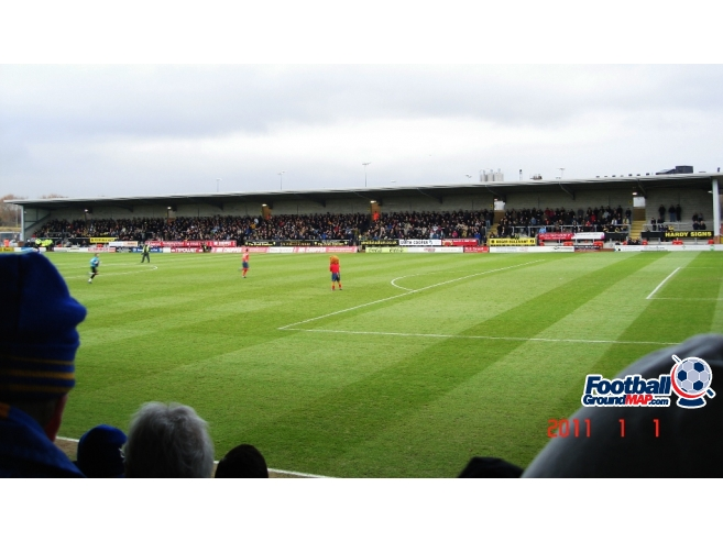 A photo of The Pirelli Stadium uploaded by saintshrew