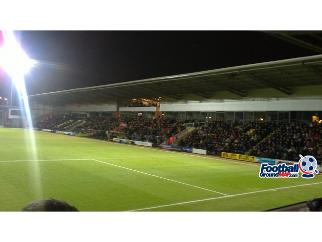 A photo of The Pirelli Stadium uploaded by biscuitman88