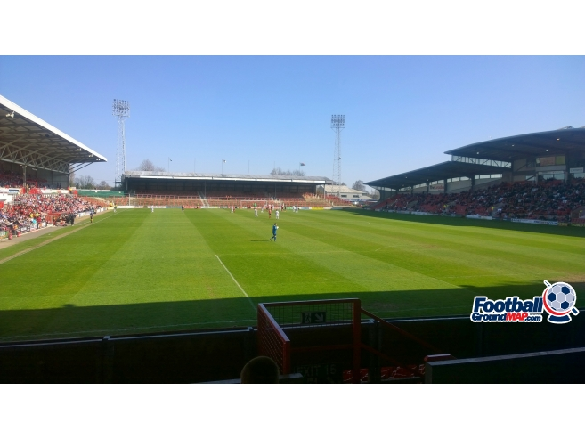 A photo of The Racecourse Ground uploaded by gander1974