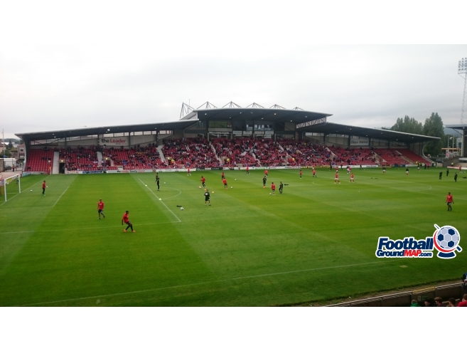 A photo of The Racecourse Ground uploaded by biscuitman88
