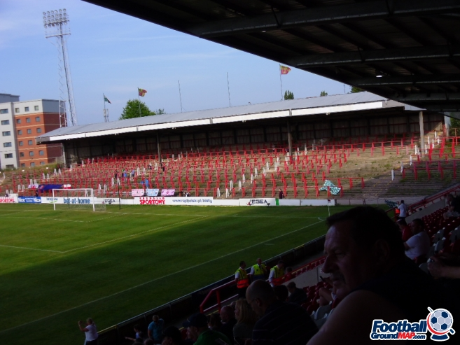 A photo of The Racecourse Ground uploaded by smithybridge-blue