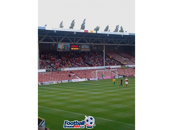 A photo of The Racecourse Ground uploaded by giorgiopin