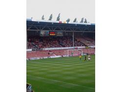 An image of The Racecourse Ground uploaded by giorgiopin