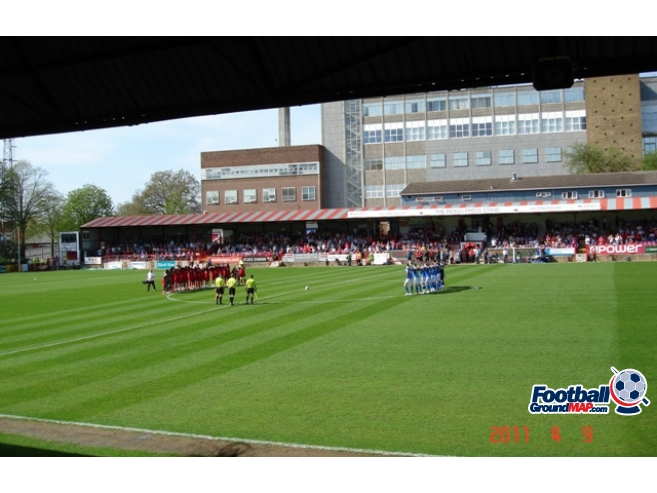 A photo of EBB Stadium uploaded by saintshrew