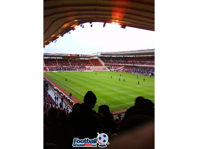 A photo of The Riverside Stadium uploaded by borofan93