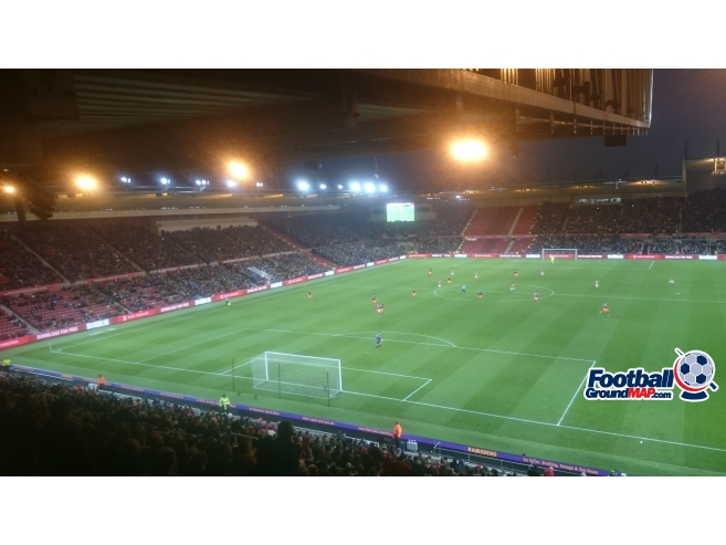 A photo of The Riverside Stadium uploaded by biscuitman88