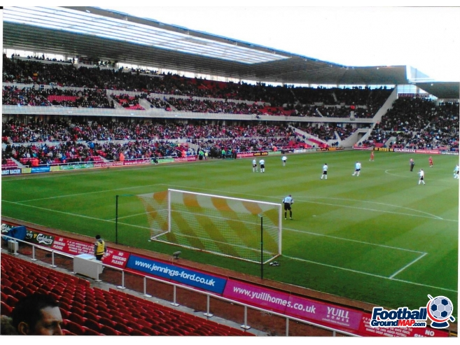 A photo of The Riverside Stadium uploaded by rampage