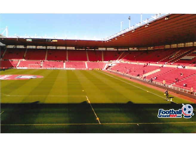 The Riverside Stadium Home To Middlesbrough Football