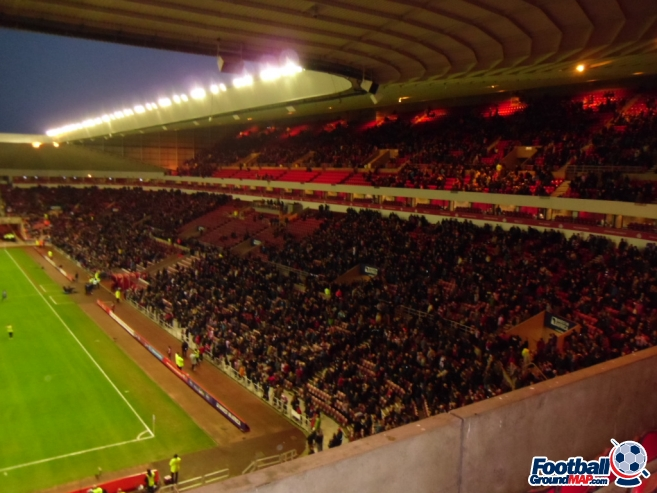 A photo of The Stadium of Light uploaded by smithybridge-blue