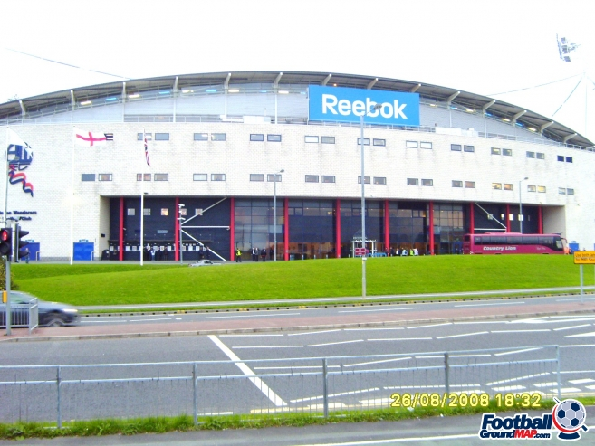 A photo of The University of Bolton Stadium uploaded by facebook-user-97239