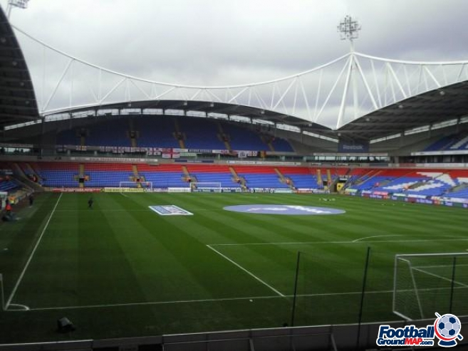 A photo of The University of Bolton Stadium uploaded by chloee165
