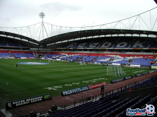 A photo of The University of Bolton Stadium uploaded by danw2002