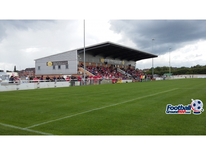 A photo of The Weaver Stadium uploaded by paulgriffiths