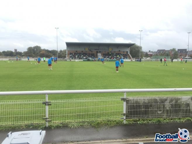 A photo of The Weaver Stadium uploaded by alexcraiggroundhop