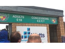 An image of The Weaver Stadium uploaded by alexcraiggroundhop