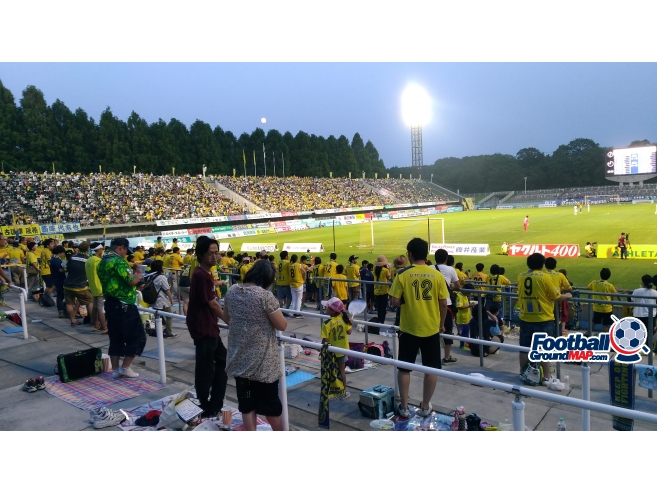 A photo of Tochigi Green Stadium uploaded by matttheox