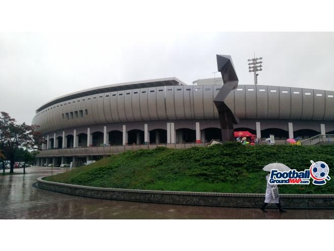 A photo of TOHO Stadium uploaded by matttheox
