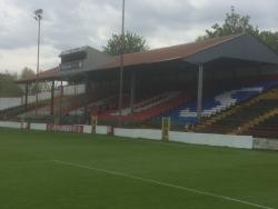 An image of Tolka Park uploaded by siralf